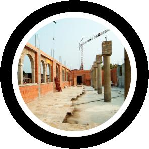 Cantiere edile per recupero tossicodipendenti