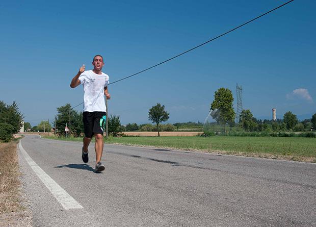 Attività di corsa in comunità